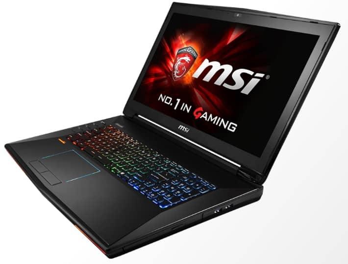 MSI laptops dominator pro
