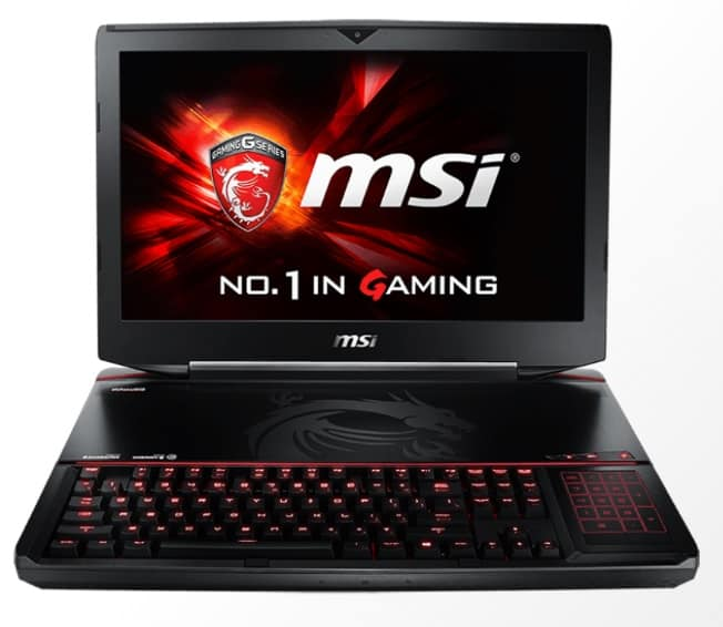 MSI laptops titan