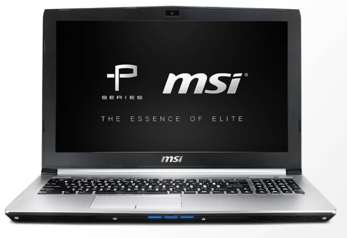 MSI laptops Prestige