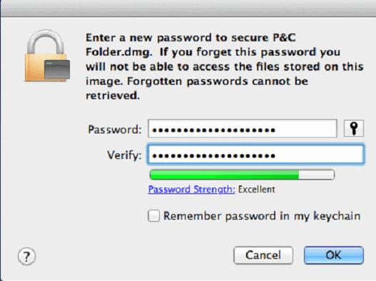 password protect Mac