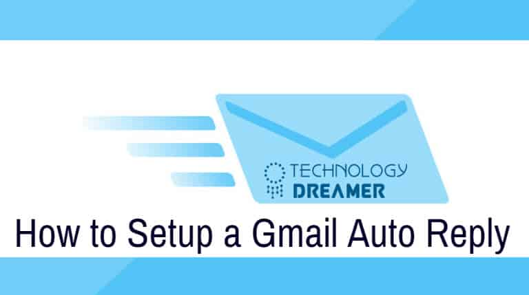 instructions on how to set up gmail auto reply